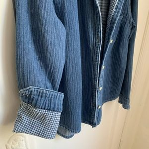 Madewell heavyweight denim shirt